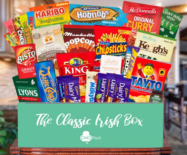 Send An Irish Hamper Abroad Irish Care Packages Craicpack